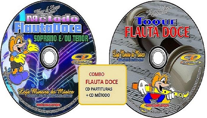 COMPRAR FLAUTA DOCE CURSO E PARTITURAS