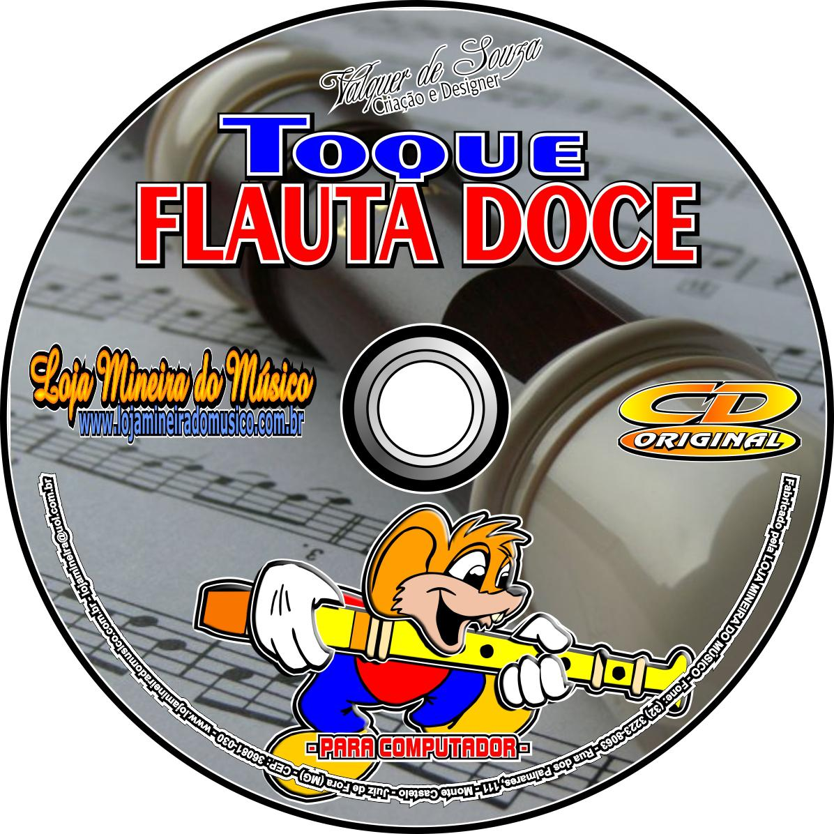 LOJA DE PARTITURAS DE FLAUTA DOCE