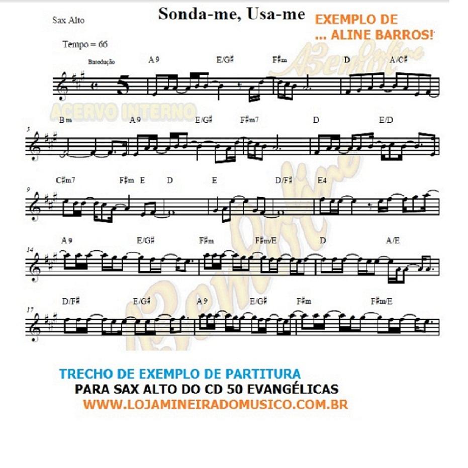 partitura para sax alto evangelico a venda na loja mineira do musico
