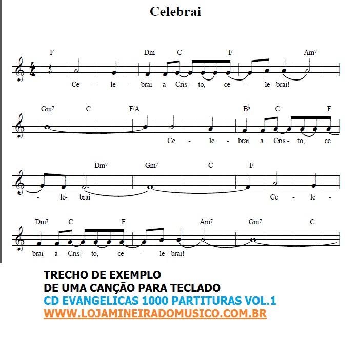 musicas partituras: