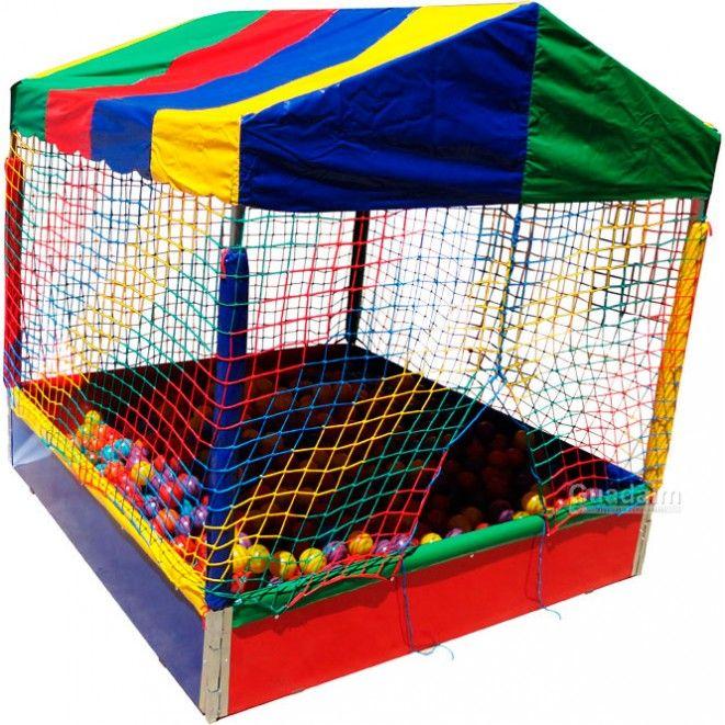 Piscina de bolinha de 2m x 2m com bolas coloridas for Piscina de bolas amazon