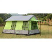 Barraca de camping mans�o 10 pessoas Adventure Brasil ADV-1002 Verde