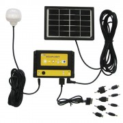 Carregador Solar Multifun��o com Lumin�ria Solar 1661 - EY7005