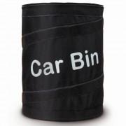Cesto de Lixo Auto Nylon Dobr�vel 20cm x 15cm Car Bin CBR-1081