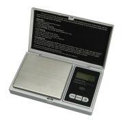 Mini Balan�a Digital Alta Precis�o de Bolso Port�til 500gr Prata - CBR1049