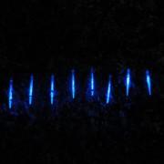 Pisca Led Turbo Azul 8 Tubos 23cm 80 Leds 1327 Bi-volt