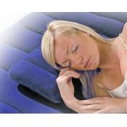 Travesseiro Imperme�vel Flocado Infl�vel Intex 68672