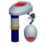Alarme para Piscina - Pool Alarm - Com Alarme Sonoro e Luminoso e Base Sem fio com sirene