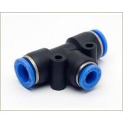 Conex�o em T Push-In Mang. 8mm  - Pneum�tica - TPE8