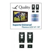 Suporte Universal de parede fixo para TV LCD Plasma Led de 10 ate 71 Quality QS01