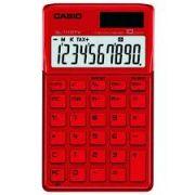 Calculadora Casio SL-1110 TV-RD Vermelho Alimenta��o Solar e Pilha - Alta Qualidade