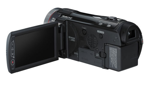 FILMADORA Panasonic - HDC-TM900PUK - Full HD, 3MOS, 3D compatible, 14.2MP, 12xOptical Zoom, 20x Zoom Inteligente,3.5� LCD Touch Screen, 32Gb Memory, EVF, Manual Ring