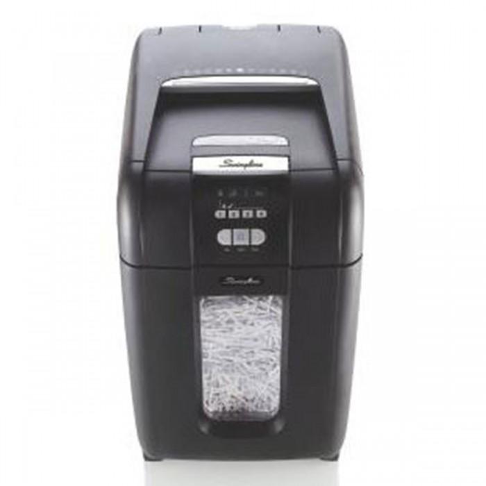 Fragmentadora De Papel Automática Swingline 250X 110V - Corta Até 8 Fls Manualmente E Até 250 Fls Automaticamente Em Partículas N3, Cd Dvd Cartão Clipes Grampos, Cesto: 40L, Fenda: 229Mm, Funciona