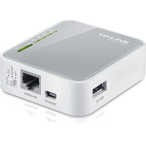 Roteador Port�til 3G Wireless 150Mbps TL-MR3020 - TP-LINK