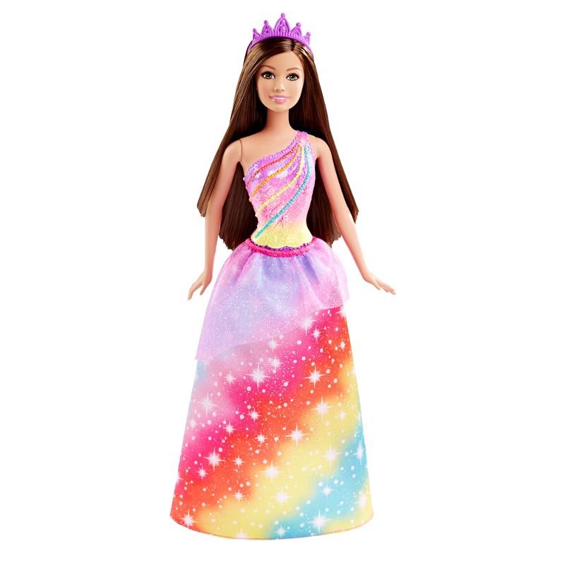 Boneca Barbie Princesa Reinos M�gicos Reino dos Arco-�ris - Mattel