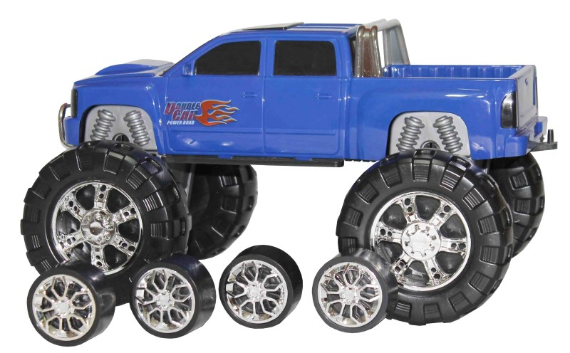 Caminhonete 2 em 1 Double Car Power Road - Diver Toys
