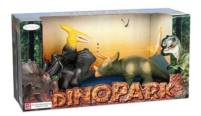 Dinossauro DinoPark Dupla Dino - Bee Toys