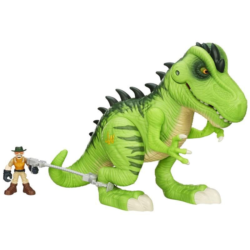 Dinossauro Jurassic World T-Rex Playskool Heroes - Hasbro