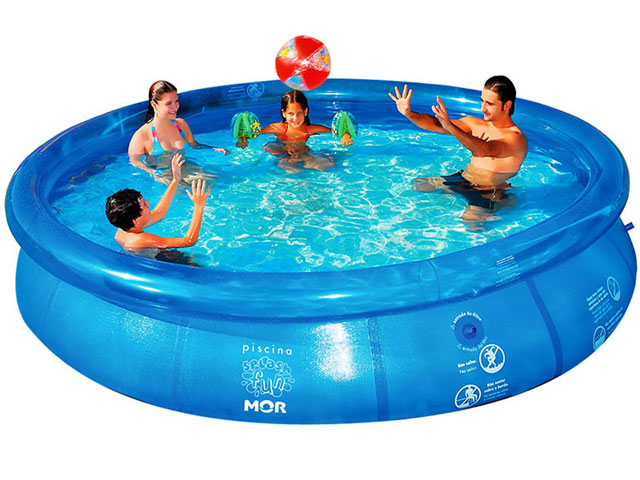 Piscina Infl�vel Splash Fun 7800 Litros - MOR