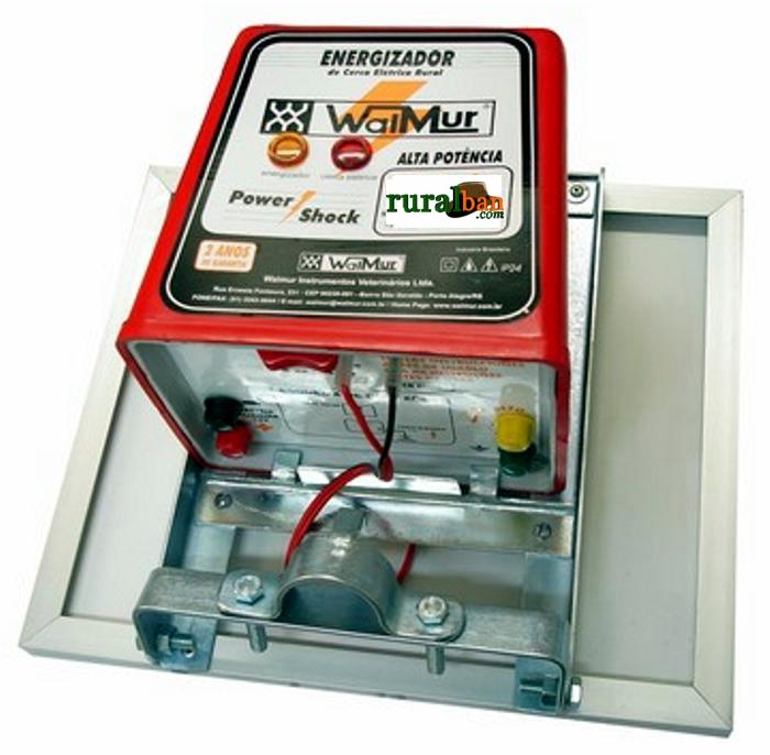 ELETRIFICADOR SOLAR COM BATERIA INTERNA - PAINEL 5W  - K400 SOL