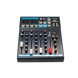 OMX42 - Mesa de Som / Mixer 4 Canais c/ USB OMX 42 - Oneal
