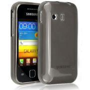 Capa TPU Premium + Pel�cula protetora para Samsung Galaxy Y GT-S5360