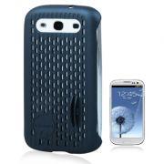 Capa Mash Vent para Samsung Galaxy SllI S3 - Cor Cinza