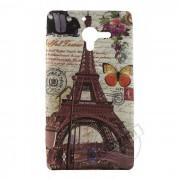 Capa Personalizada Cart�o Postal Paris para Sony Xperia ZQ
