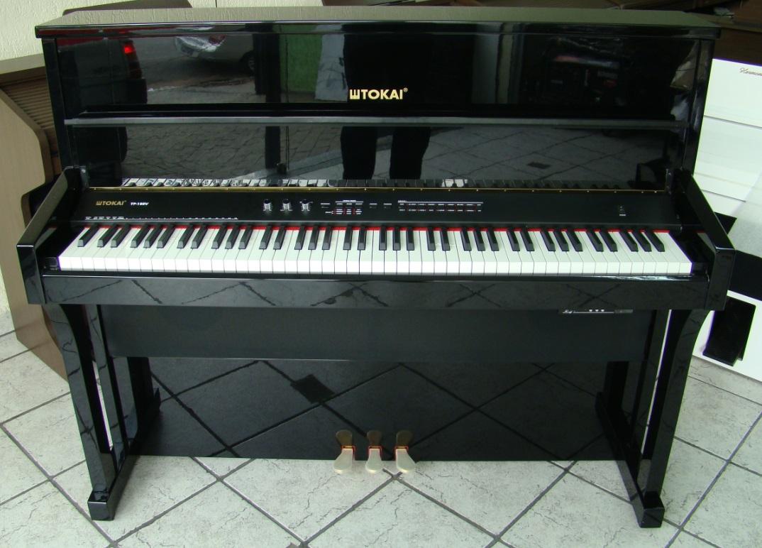 Piano Digital Tokai TP-188V Preto Alto Brilho