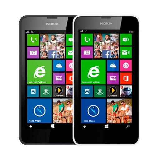 Celular Nokia Lumia 630 - 8 GB, 3G, Cu00e2mera de 5 MP, Tv Digital Dual ...