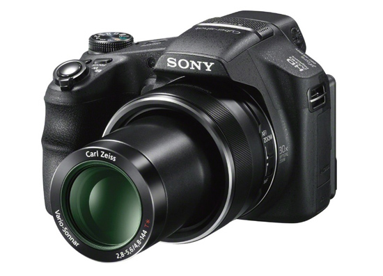 C�mera Digital Sony DSC-HX200 --- 18.2MP / Zoom �ptico de 30x / LCD de 3 polegadas / GPS / V�deo Full HD 60fps