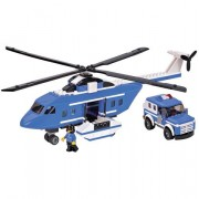Bloco de Encaixe 5 em 1 Helic�ptero 314 pe�as - Xalingo