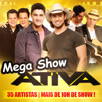 Mega Show Ativa FM - 15/11 - Pen�polis - SP - TKINGRESSOS