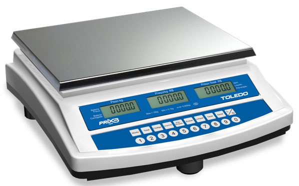 BALAN�A DIGITAL COMPUTADORA - PRIX 3 Light BATERIA - TOLEDO  - Balan�a I Digital I Eletr�nica I Comercial I Industrial I Balan�as Net