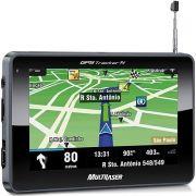 GPS GP034  Multilaser 4.3 Polegadas Touchscreen TV Digital Radio FM