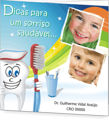 Folder SA�DE BUCAL PEDIATRIA - Ref. 2201