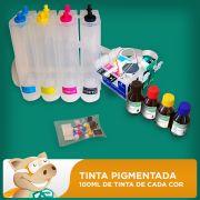 Bulk Ink Epson T25 - TX123 - TX125 - TX133 - TX135 Tinta Pigmentada