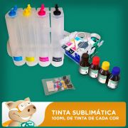 Bulk Ink Epson T23 - T24 - TX105 - TX115 Tinta Sublim�tica