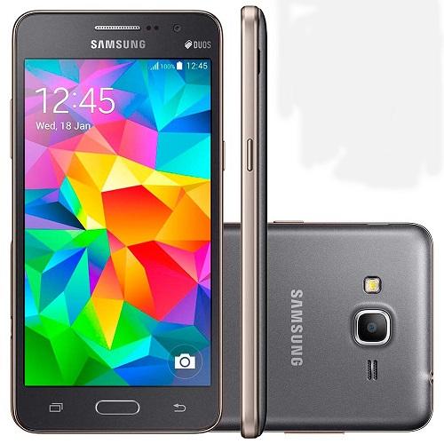 Smartphone Samsung Galaxy GRAN Prime G531M Quad Core Android 5.1 Tela 5 8GB 8MP 4G Dual CHIP Cinza