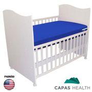Capa Colch�o Hospitalar Ber�o Azul 0,70 x 1,30 x 0,10 cm