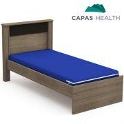 Capa Colch�o Hospitalar Solteiro Azul 0,88 x 1,88 x 0,18 cm