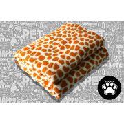 Cobertor Manta Pet Shop Microfibra Girafa