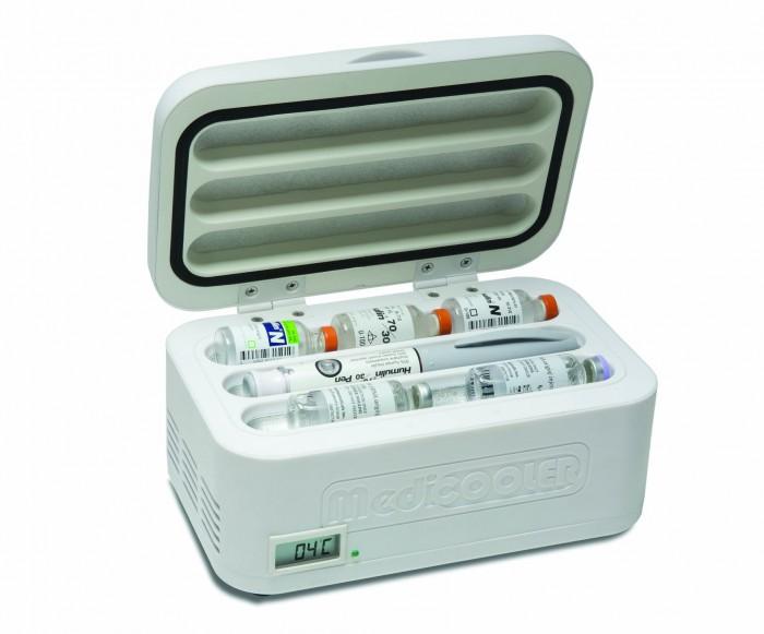 Mini refrigerador port�til para transporte de insulina  - Medicooler - Uniqmed  - SP