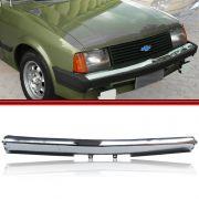 Parachoque Dianteiro Lamina Chevette Chevy 500 Maraj� Cromado 83 a 86 Sem Furos para Borrach�o