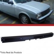 Parachoque Dianteiro L�mina Chevette Maraj� Chevy 500 83 a 86 Preto Sem Furo