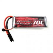 Bateria LiPo Thunder Power 3s 2250 mAh G8 Pro Force 70c (T-rex 450, etc)