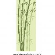 011 - Adesivo Jateado para vidro Bamboo 210x90cm