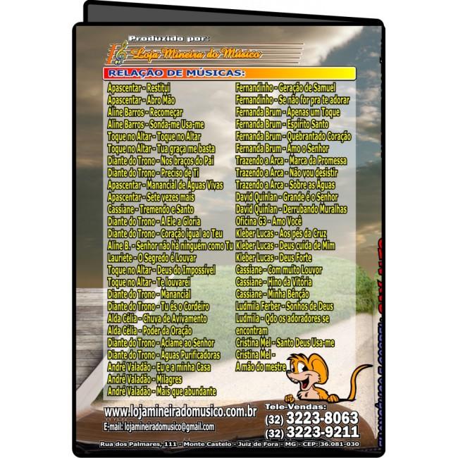 SAX ALTO Partituras Evang�licas com Playbacks Gospel 50 M�sicas (Volume 1)