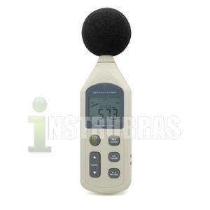 HM-851 - Medidor de n�vel sonoro com datalogger-USB (Decibel�metro)