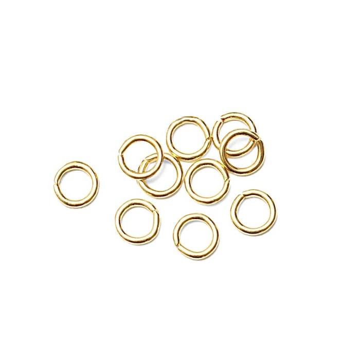 Argolinha Lat�o dourada N� 04/ N� 05/ N� 06 ou N� 07 (25 gramas)- ALD002
